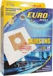Мешок для пылесоса (пылесборник) SAMSUNG, 4шт., синтетические, многослойные EUROCLEAN  E-04/4