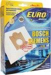 Мешок для пылесоса (пылесборник) BOSCH, 4шт., синтетические, многослойные EUROCLEAN, E-05/4