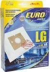 Мешок для пылесоса (пылесборник) LG, 4шт., синтетические, многослойные EUROCLEAN  E-08/4