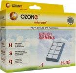 Фильтр для пылесосов OZONE H-05 HEPA