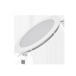 Светодиодный встраиваемый светильник Gauss ультратонкий круглый IP20 12W 2700K