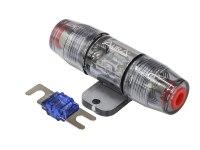 Держатель предохранителя miniANL Aura FHM-603N, вход 8-20mm2 (8-4AWG), предохр. 100А в комплекте