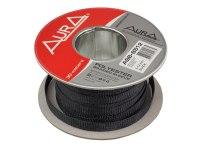 Оплетка Aura ASB-B512, изоляция змеиная кожа для кабеля, полиэстер, диаметр 5-12мм, цвет черный
