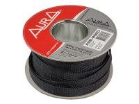 Оплетка Aura ASB-B920, изоляция змеиная кожа для кабеля, полиэстер, диаметр 9-20мм, цвет черный