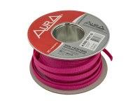 Оплетка Aura ASB-P512, изоляция змеиная кожа для кабеля, полиэстер, диаметр 5-12мм, цвет пурпурный