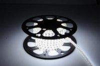 Светодиодная лента 2835/60 водонепроницаемая IP67 холодный белый 4,8W 220VАC General