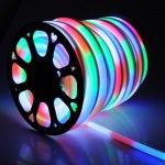 Лента Гибкий Неон GLS-5050-80-10-220-NL-IP67-RGB