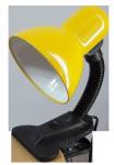 Светильник настольный на прищепке GTL-026-60 желтый