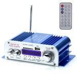 Усилитель звука HY3005 (2x20Вт, USB, SD, FM, ПДУ)