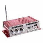 Усилитель звука HY501 (2x20Вт, USB, SD, FM, ПДУ)