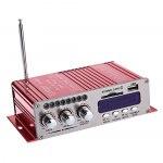 Усилитель звука HY502S (2x20Вт, USB, SD, FM, BT, ПДУ)