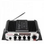 Усилитель звука HY600 (2x20Вт, USB, SD, FM, ПДУ)