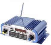 Усилитель звука HY601 (2x20Вт, USB, SD, FM, ПДУ)