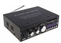Усилитель звука HY806 (2x20Вт, USB, SD, FM, BT, ПДУ)