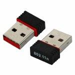 Адаптер беспроводной WD308 802.11n USB2.0, до 150Mbit, чипсет MT7601