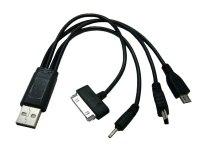 Набор переходников USB на miniUSB, 2.0, iPad/SAM TAB, microUSB