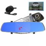 Видеорегистратор автомобильный Орбита HAD-68, зеркало+ доп. камера