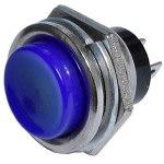 Кнопка PBS-26C-BL on-(off) синяя