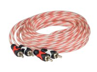 Межблочный кабель Aura RCA-A130, 2RCA шт + 2RCA шт, длина 3м