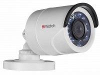 Видеокамера HiWatch DS-T200P (2,8мм), 2Мп, HD-TVI, PoC, уличная
