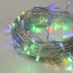 Гирлянда Нить 10 м 100 LED с контр. 8 р мульти, нить силикон