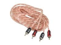 Межблочный кабель Aura RCA-A150MKII, 2RCA шт + 2RCA шт, длина 5м