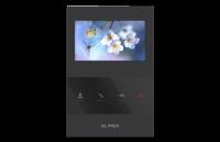 Монитор Slinex SQ-04 Black, для видеодомофона, дисплей 4, цвет черный