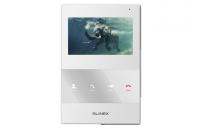 Монитор Slinex SQ-04M White, для видеодомофона, дисплей 4, цвет белый