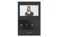 Монитор Slinex SQ-04M Black, для видеодомофона, дисплей 4, цвет черный