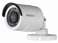 Видеокамера HiWatch DS-T100 (6мм), 1Мп, HD-TVI, CVBS, уличная