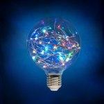 Лампа - гирлянда RGB Е27