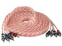 Межблочный кабель Aura RCA-A154MKII, 4RCA шт + 4RCA шт, длина 5м