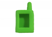 Чехол силиконовый для брелока Scher-Khan Magicar A, B, цвет зеленый