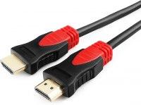 Кабель HDMI Cablexpert, серия Silver, длина 20 м, v1.4, M/M, позол.разъемы, феррит. кольца, коробка