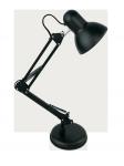 Светильник настольный на основании GTL-036 черный на основ + струбц 2в1