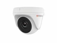 Видеокамера HiWatch DS-T133 (3,6мм), 1Мп, HD-TVI, купольная