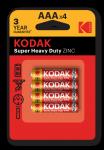 Батарейка Kodak  R03 BL4