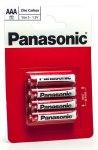 Батарейка Panasonic Zinc Carbon  R03 BL4