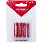 Батарейка Smartbuy  LR03 BL4