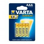 Батарейка Varta 2003.101.414 SuperLife  R03 BL4