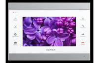 Монитор Slinex SL-07IP, для видеодомофона, дисплей 7, цвет серебристо-черный