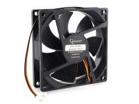 Вентилятор Gembird, 12VDC, 92x92х25мм, 3 pin, гидродинамический