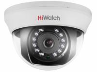 Видеокамера HiWatch DS-T591 (2,8мм), 5Мп, AHD/HD-TVI/CVI/CVBS, купольная