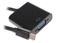 Переходник miniDisplayPort - VGA, Cablexpert A-mDPM-VGAF-02, 20M/15F, длина 15см, черный, пакет