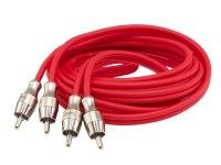 Межблочный кабель Aura RCA-B22SE, 2RCA шт + 2RCA шт, длина 2м