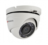 Видеокамера HiWatch DS-T123 (2,8мм), 1Мп, HD-TVI, купольная