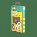 Внешний аккумулятор More Choice PB21-10 10000mA, 2xUSB, 2A черный
