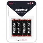 Батарейка SmartBuy R6 BL4