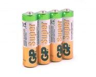 Батарейка GP 24A LR03 4S