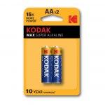 Батарейка Kodak MAX  LR6 BL2